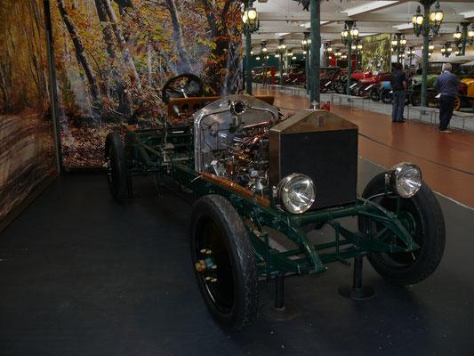Fahrgestell vom Rolls Royce Silver Ghost