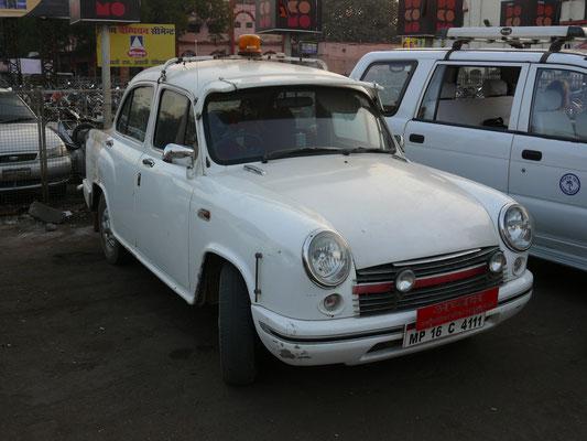 """Hindustan, letztes Modell mit """"verschlimmbesserter"""" Front..."""
