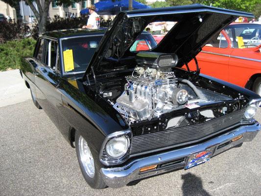 USA: mächtig getunter 65er Chevy II (Bild: Guntram Hohorst)