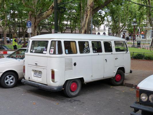 Uruguay 2013: VW T2 (!) aus brasiliansicher Produktion
