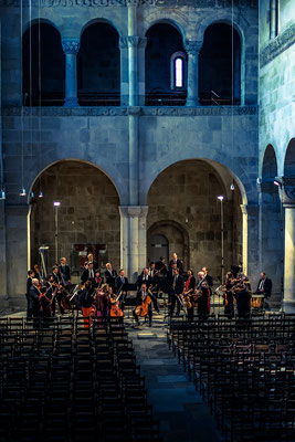 Generalprobe Stiftskirche Quedlinburg mit Antje Weithaas