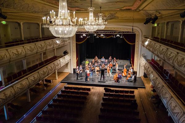 Anspielprobe Kaisersaal Erfurt, November 2016