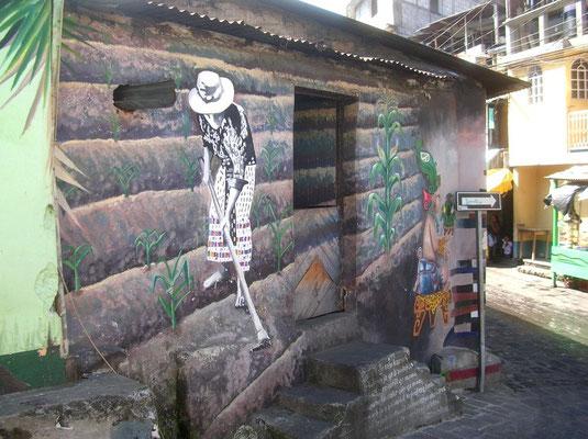 Une autre peinture murale