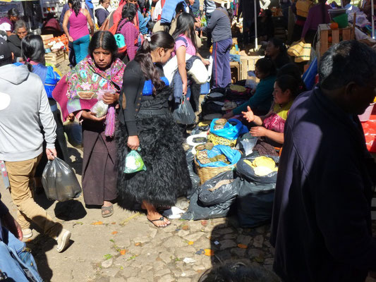 scènes de marché à San Cristobal
