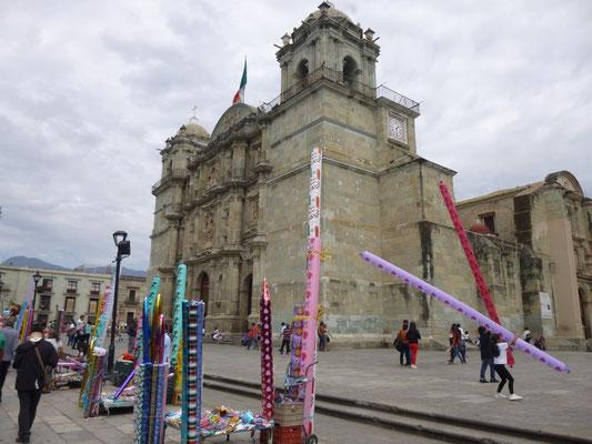 La cathédrale d'Oaxaca
