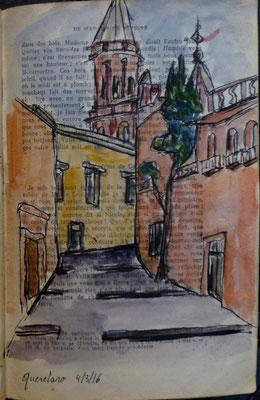 Une rue de Queretaro par Daniel