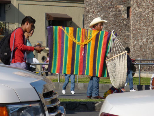 Vendeur de hamacs à Cuernavaca