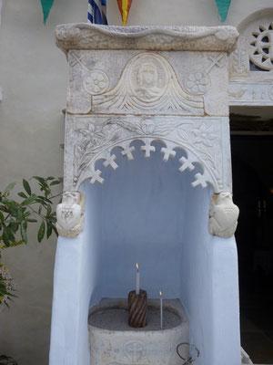 Détail de la chapelle Ste Euphème