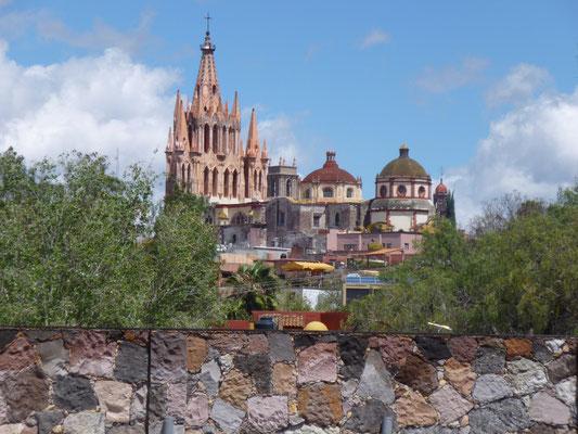 La cathédrale de San Miguel de Allende
