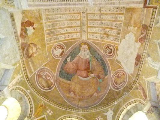 Chatelloy, le Christ en Majesté