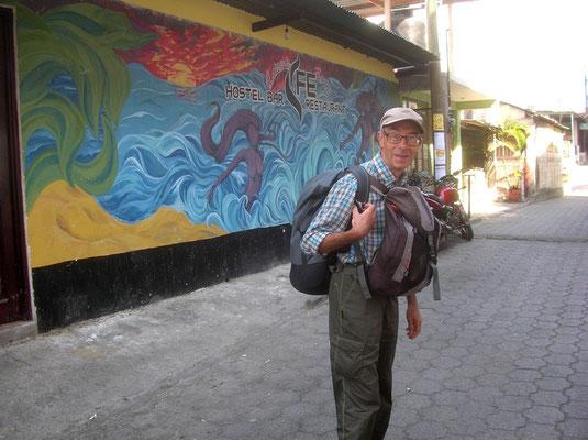 Peinture murale à San Pedro