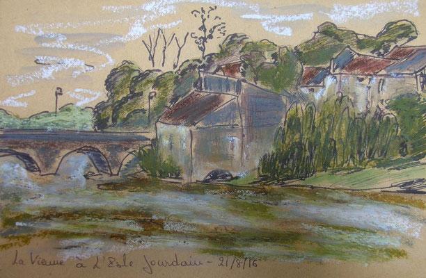 La Vienne à L'Isle Jourdain par Fred