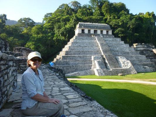 la pyramide de Palenque