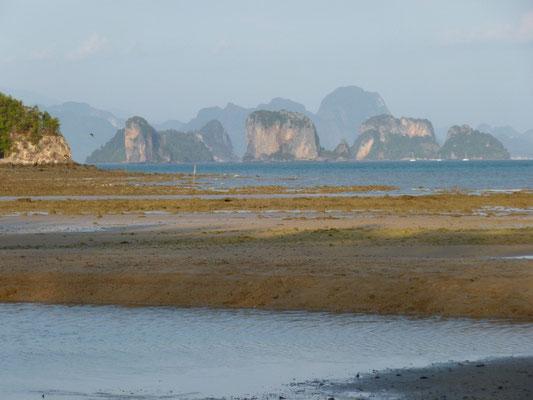 Marée basse à Ko Yao Noï