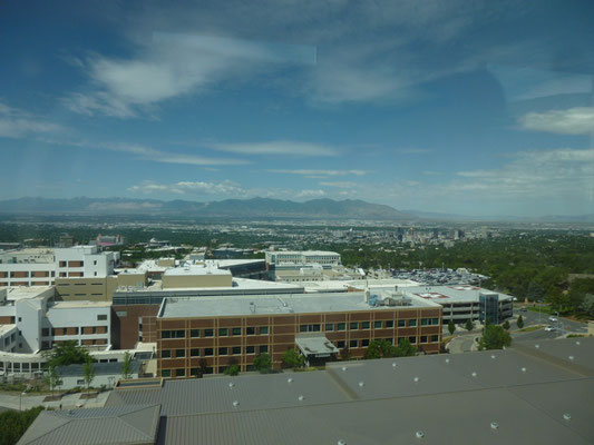 Vue générale de Salt Lake City