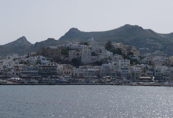 En arrivant sur Naxos