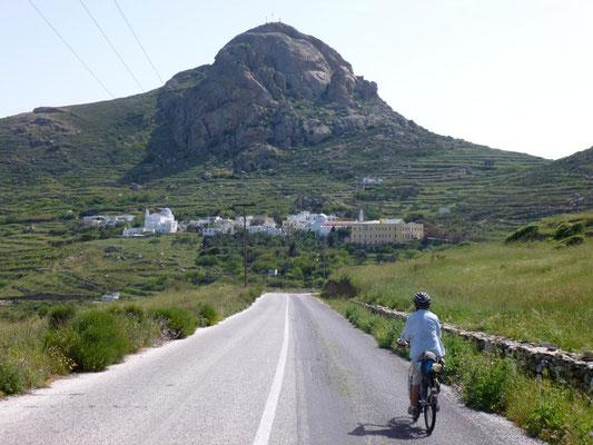Les petites routes sur Tinos