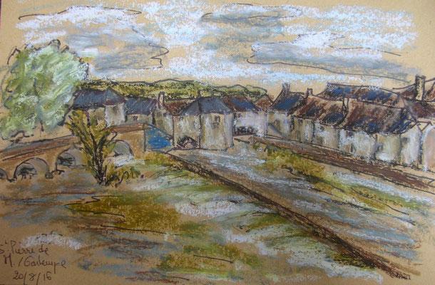 La Gartempe à Saint Pierre de M. par Fred