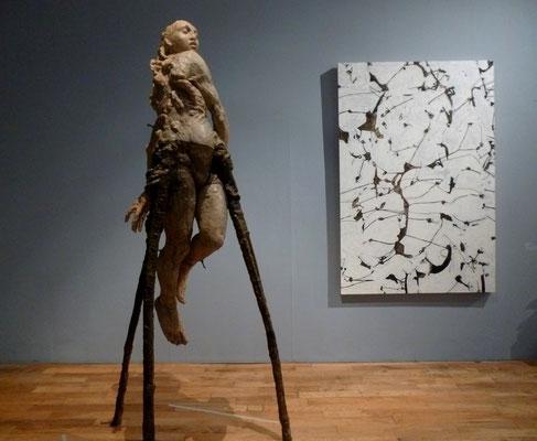 Sculpture et peinture de Javier Martin