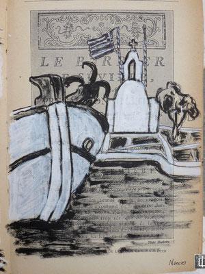 Dans le port de Naxos (par  Daniel)