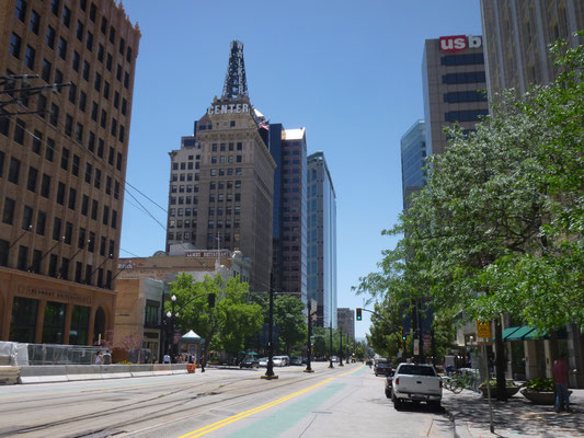 Salt Lake City, une ville vide