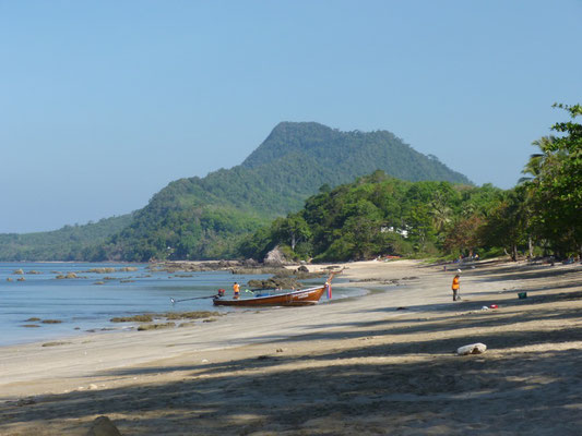 Notre plage de Ko Jum