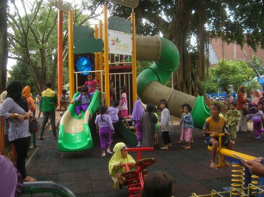 le jardin public de Malang