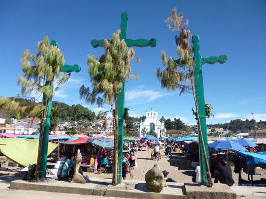 la place de San Juan de Chamula