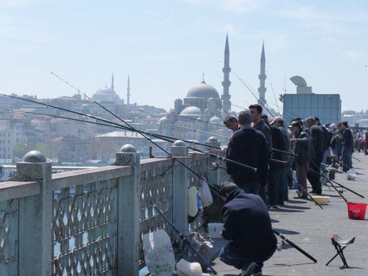 Les pêcheurs d'Istanbul