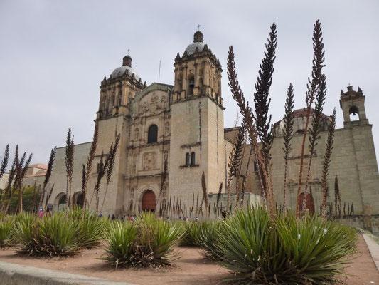 L'église Santo Domingo d'Oaxaca