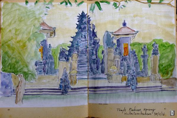 le temple Maduwe Karang de Kubutambahan par Daniel