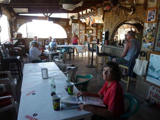 Coca dans le troquet de Puertocito