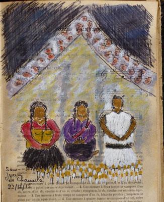 dans l'église de San Juan (de mémoire)