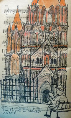 La cathédrale par Frédérique