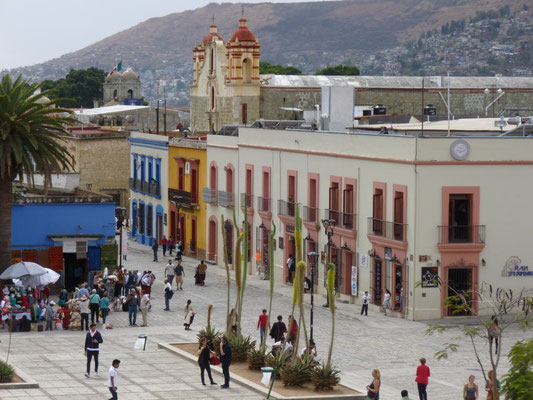 Une rue du centre d'Oaxaca