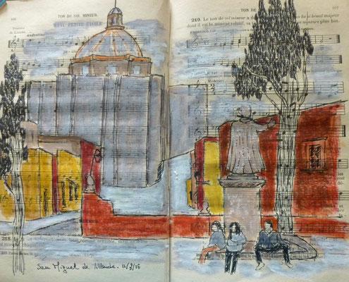 l'église San Francisco par Frédérique