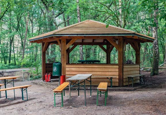 Waldhütte als Schutzhütte Stephan Tewes - Bauplan Holz