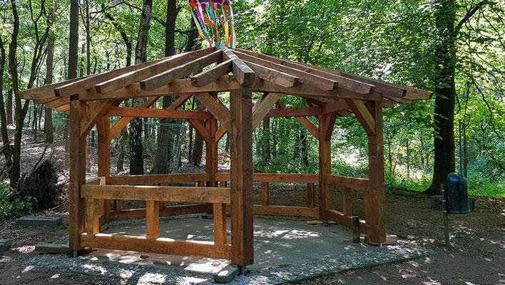 GOFA Waldpavillon und Schutzhütte
