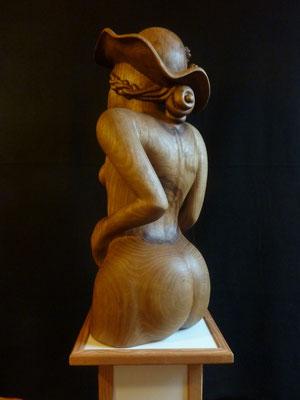 La femme au chapeau. Catalpa.