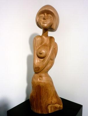 Femme nue. Ormeau.