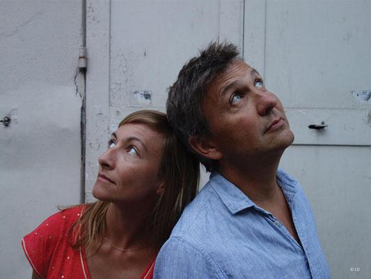 """Samedi 25 septembre à 19h - concert """"l'eau à la bouche"""" par Lucrèce Sassella et Antoine Sahler. (c) Mets et Mots d'Amou"""