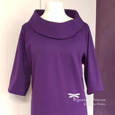 lila Kleid aus Jersey-Emsdetten
