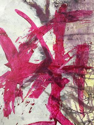 Acryl auf Karton, 2016, 100 x 70 cm