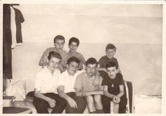 unten von links nach rechts: Büttenbender, Hammerschlag, Rechmann, Zeimet; oben von links nach rechts: Bachers, Becker, Wolfs