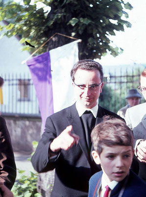 Herr Pfarrer Hain, Direktor des Alumnats