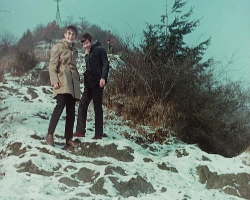 ca. 1971: Hubertus Peter und Gerhard Schmitt