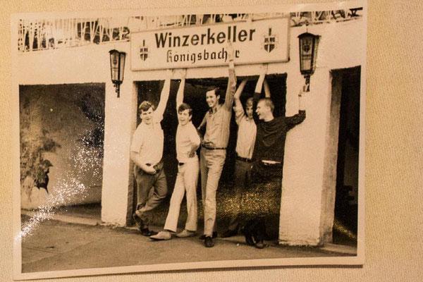 Von links: Dietmar Hammerschlag, Nicolaus-Peter Rechmann, Michael Gschoßmann, Alfred Hopmeier, Johannes Linsenmeier