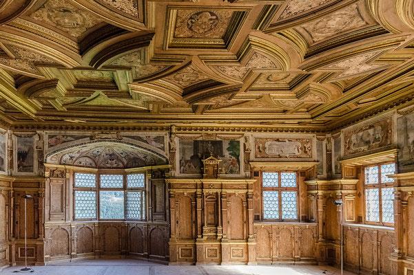 Prachtvoller Innenraum von Schloss Feldthurns