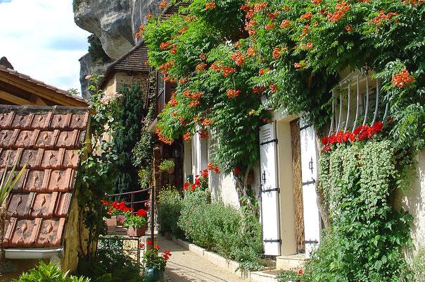 Ausflugsziel in der Dordogne: Les Eyzies