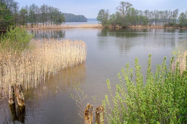 Der Lassahner See ist ein Teilstück des Schaalsees
